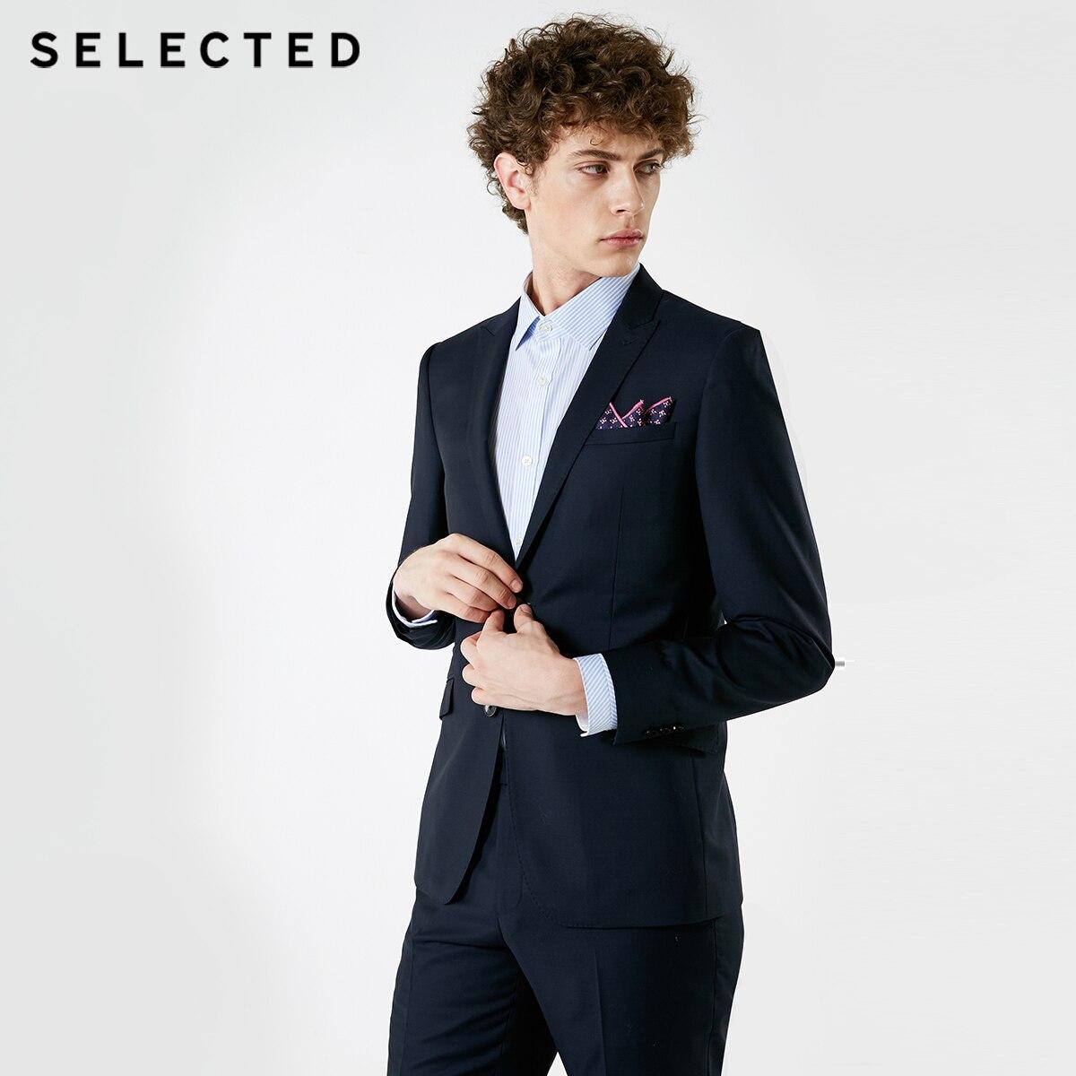모직 칼라 넥타이 칼라 비즈니스 정장 t를 포함한 남성 겨울 신제품 선택  41845z503-에서정장 재킷부터 남성 의류 의  그룹 2