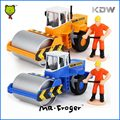 Mr.Froger 1:50 Road Roller Model Small alloy car Refined Metal Engineering Construction Vehicles Truck Decoration Classic Toys
