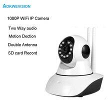 2MP 1080 P IP Камера Беспроводной дома безопасности IP Камера Камеры Скрытого видеонаблюдения Wi-Fi Ночное видение CCTV Камера Видеоняни и радионяни 1920*1080