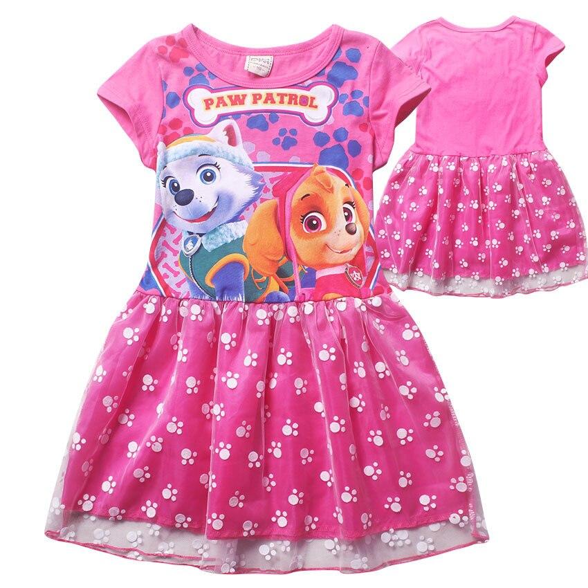 8899b9fa7a9d1e6 ②Nicoevaropa новые летние платья для девочек модные Стиль детей Пёс ...