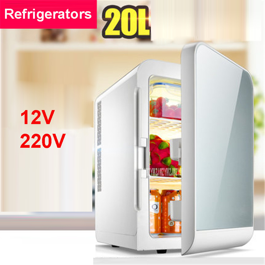 F-L20SA Portable Freezer 20 L Mini Fridge Refrigerator Car Home A Dual Use Compact Car Fridge 12/220 V Temperature Variations f l18sa portable freezer 20 l mini fridge refrigerator car home a dual use compact car fridge 12 220 v temperature variations