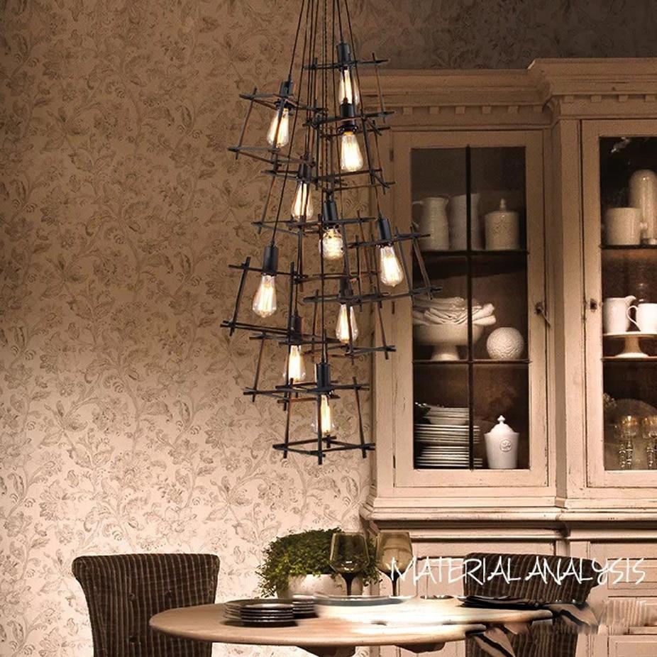 Здесь продается  led e27 Loft Iron LED Lamp LED Light.Pendant Lights.Pendant Lamp.Pendant light For Dinning Room Foyer Store Bar  Свет и освещение