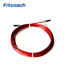 Replaceable Wire Cable Black,Red Rope For Speed Jump Ropes Skipping Rope