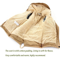 Boys Jackets Winter Coat Solid Boys Thick Warm Hooded Coat Kids Clothes Fashion Cotton Children