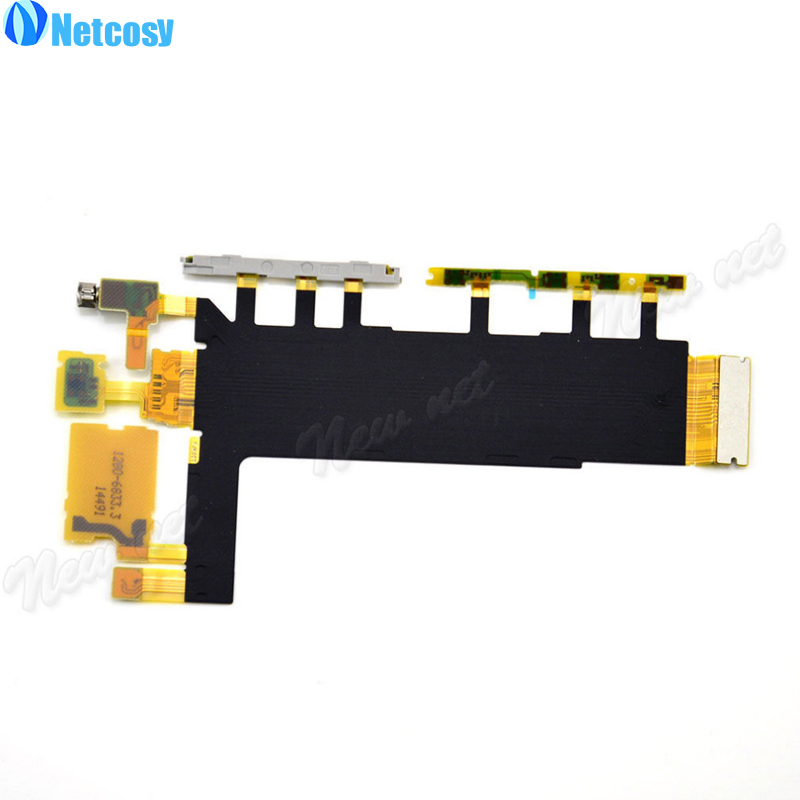 Netcosy On / Off Switch Power Button Flex Cable For Sony Xperia Z3 D6653 D6603 Buttons Repair Parts Replacement Parts