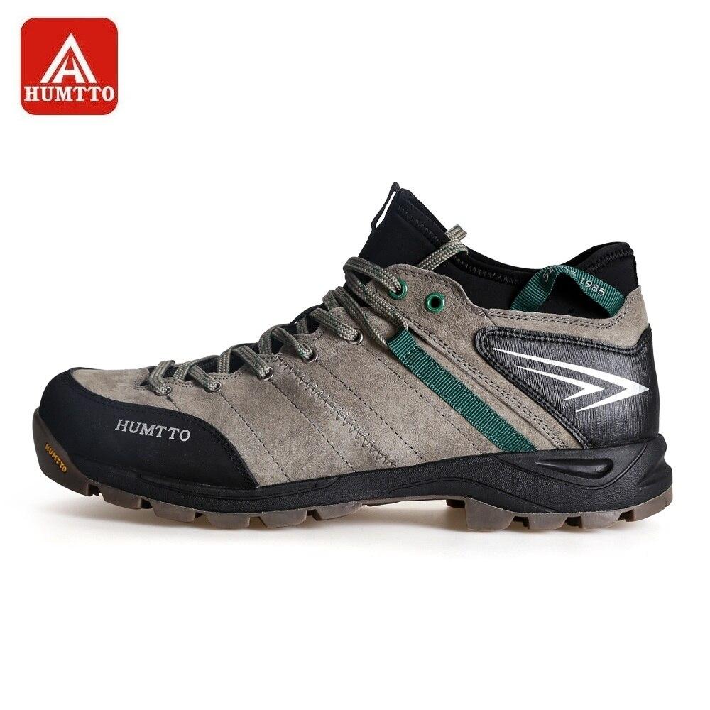 Chaussures de randonnée HUMTTO bottes de randonnée tactiques hommes nouvelles sans lacet de voyage en plein air à lacets baskets d'hiver à deux couches