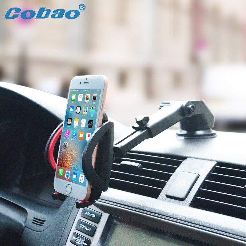 Parabrezza dell'automobile Del Telefono Mobile Universale Del Supporto Del Supporto per il iphone 7 7 S 6 6 s 5 S 5C 5G 4 S Samsung iPod GPS per iPhone Stand
