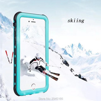 Waterproof Case For Samsung Galaxy Note 8 Shockproof Phone Back Cover Transparent 360 Full Protection Swimming
