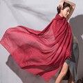 2017 Мода Шелковый Шарф Для Женщин Весна Шарф Хлопок И Лен Шаль Теплая Зима Шарф Женщины Большой echarpes foulards femme