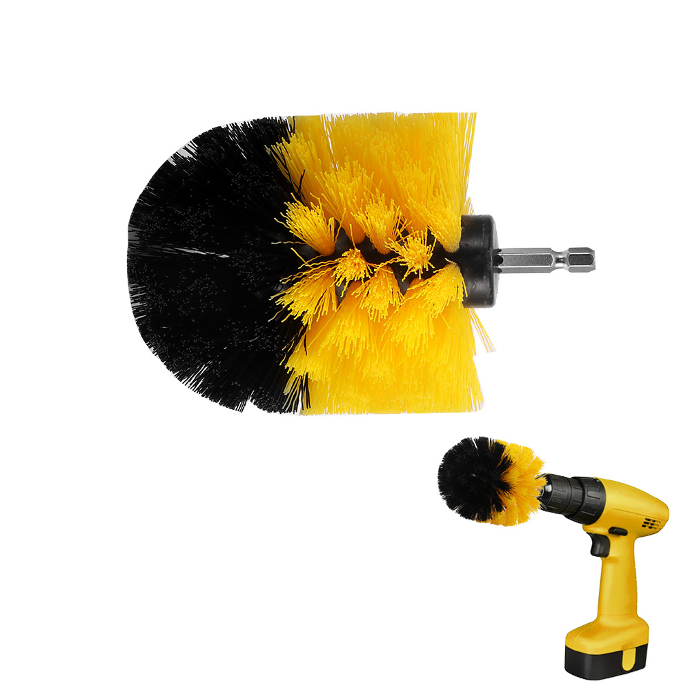 1pc Drill Cleaning Brush Power Scrubber Stiff Scrub Brush