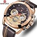 Herren Uhren NAVIFORCE Top Marke Mode Quarz Männer Uhr Wasserdicht Sport Armbanduhr Datum Männlich Uhr Relogio Masculino