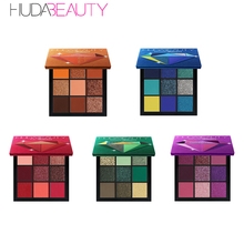 2019 web celebrity hot style Eyeshadow Palette The  Precious Stones Collection 9 Colors Easy to Wear Eyeshadow Glitter Palette для глаз victoria shu doll s style eyeshadow palette 52 цвет 52 variant hex name d19495
