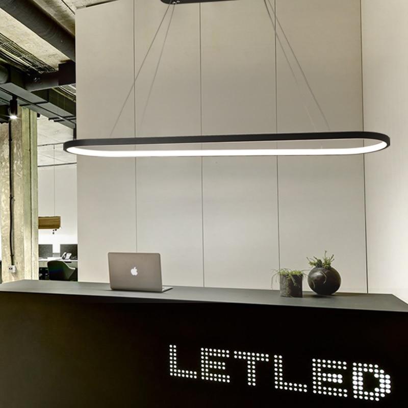 Length 700/900/1200mm Modern Led Hanging Pendant Lights Dining Kitchen Room High Brightness Suspension luminaire Pendant Lamp-in Pendant Lights from Lights & Lighting    3