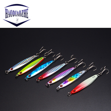 Купить с кэшбэком VIB Fishing Lure 7cm 21g Jig Isca Artificial Bait Wobblers Spinners Spoon Bait Winter Sea Ice Minnow Fishing Tackle Squid Peche