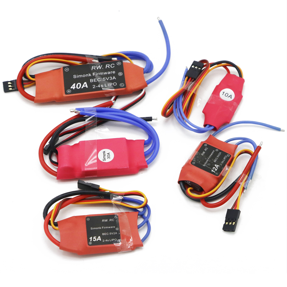 1pcs/lot Simonk 10A/12A/15A /20A /30A Firmware Elecs