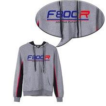 KODASKIN Men F800R Cotton Round Neck Casual Printing Sweater Sweatershirt Hoodies