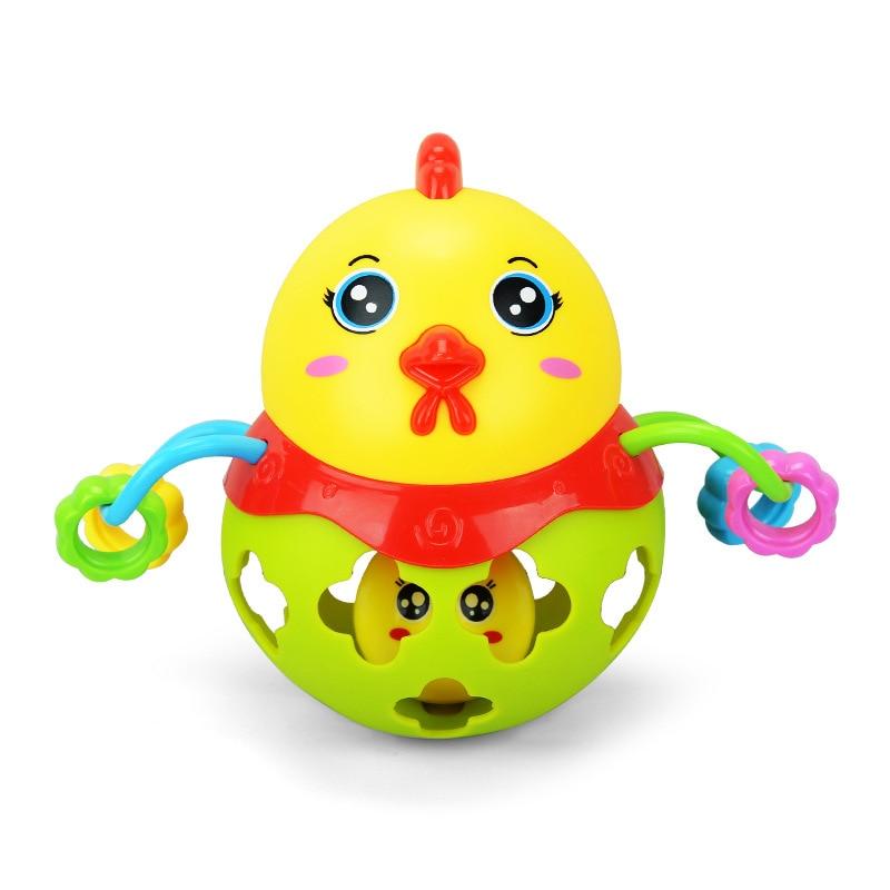 Baby Rattles Ball Baby font b Toys b font 0 12 Months Cartoon Educational font b