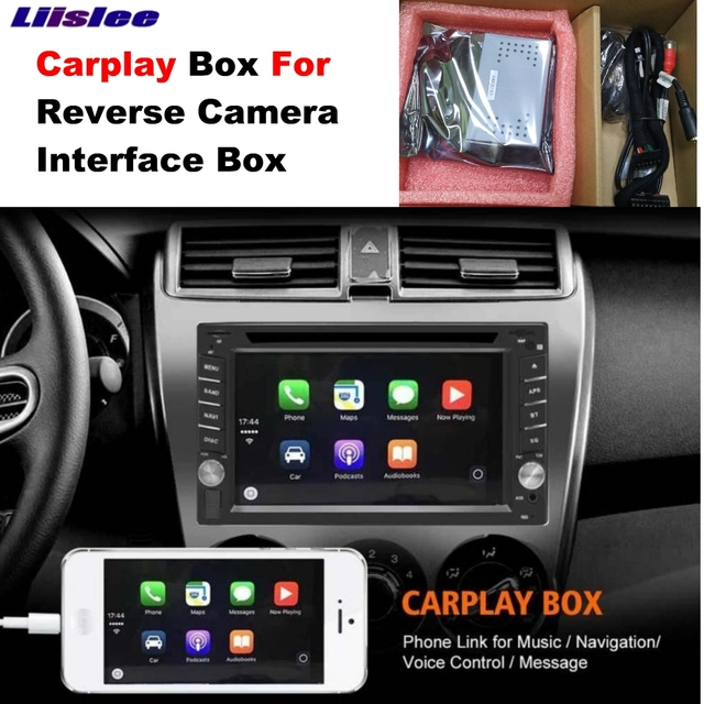 Liislee Carplay Box For Camera interface In my store For IOS&Android
