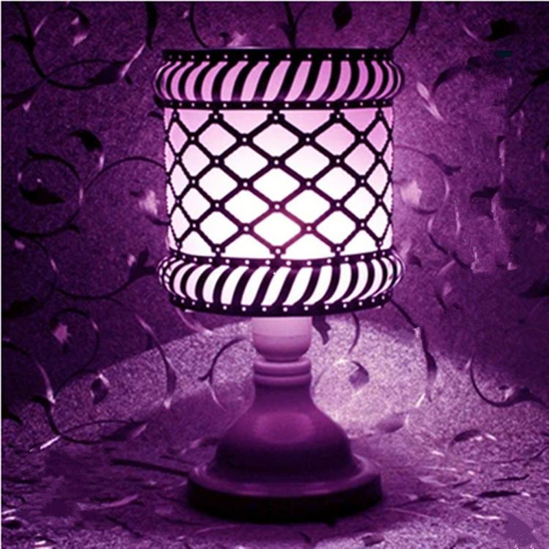 Creative dimming LED desk lamp night light romantic bedside lamp birthday gift bedroom indoor lighting 3d happy birthday led night light remote control or touch switch 7 color changing bedside lamp decor birthday gift iy803345 4