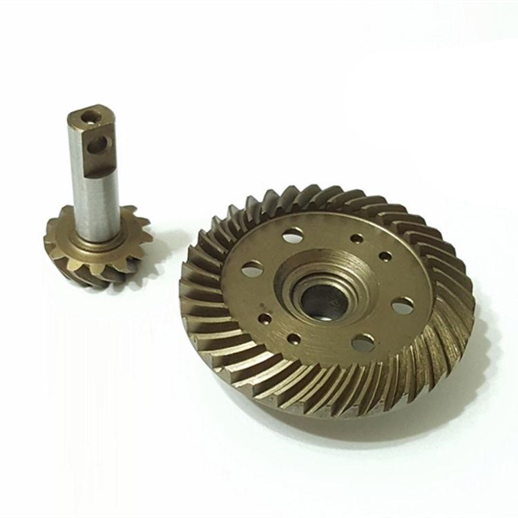 Traxxas Revo E Revo Steel Heavy Duty Heli Spiral Diff Ring Pinion Gear 37t/13t