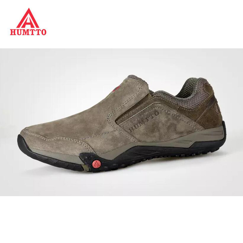 HUMTTO 2017 Men Hiking Shoes Waterproof Genuine Leather Climbing Shoes Outdoor Slip-on Trekking Shoes EVA Sports Sneakers 1632 winter men s outdoor cotton warm sports hiking shoes sneakes men anti slip climbing athletic shoes camping chaussures trekking