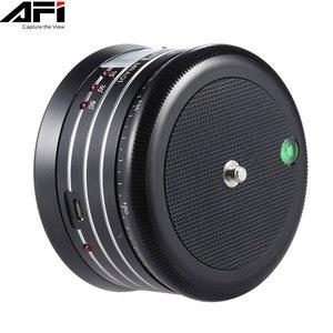 AFI MRA01 Мини электрическая панорама вращение на 360 градусов тренога с шаровой головкой для телефона GoPro Экшн-камера селфи палка панорамная