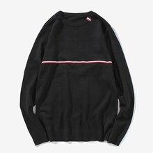 Новые моды для мужчин свитер пуловеры о-образным вырезом вязаные свитера homme hombre тянуть М-5XL CYG140