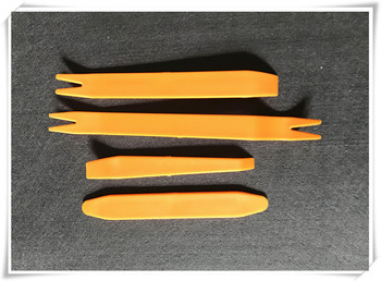 Car dashboard Panel Removal Tool 4 pcs/set FOR audio cd DVD GPS FOR ford focus 2 3 fiesta toyota corolla opel astra h g kia Rio image