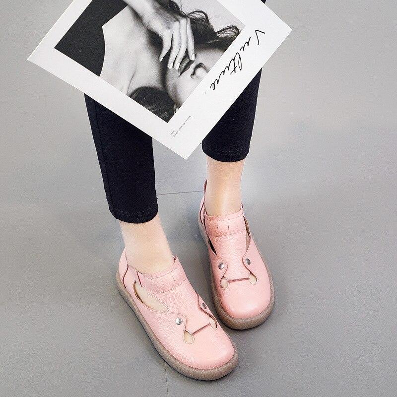 De Nouvelle Mocassins 2019 Cuir En Couleur Femmes Sauvage Beige Sucrerie Suédé Décontracté rose Printemps Chaussures Paresseux noir U5xrSxnt