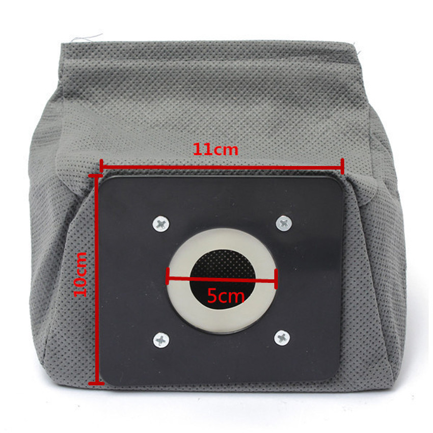 3pcs universal cloth bag reusable vacuum cleaner bags suitable for Philips Electrolux LG Haier Samsung etc Free shipping