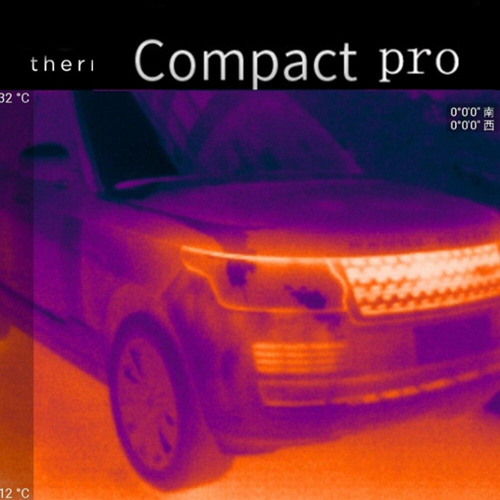 Téléphone portable chercher caméra thermique infrarouge imageur Termometro thermomètre numérique Weerstation Support vidéo images pour Android - 3