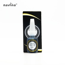 NAVINA 2016 New Arrival Black Box Glue Long Lasting 50 days No Odor No Stimilation 5 seconds Quick Dry Eyelash Glue For Lashes 2016 new arrival black