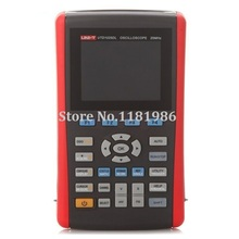 UNI-T UTD1025DL 2 Channels/25Mhz/250MS/s Portable Handheld Digital Storage Oscilloscope Multimeter DMM 2 in 1 1pc dso1200 handheld portable usb oscilloscope scope dmm 200 mhz 500msa s 5 7 2ch