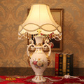 Bai Rui Shi Ai Ruisi new European aesthetic painted ceramics decorations ornaments creative wedding table lamp 305