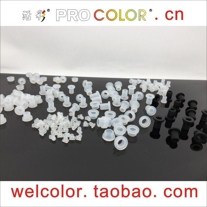 """T-shaped Silicone Rubber Grommets Protector Sleeves Over-wire Coils Outlet Loops Wire Protection Sleev Open Hole 15/64"""" 6 4 Mm"""