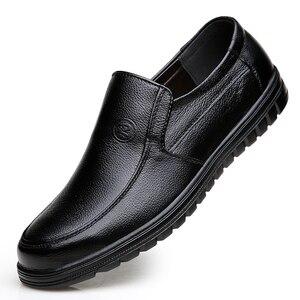 Image 3 - VESONAL 2019 קיץ נוח להחליק על עור אמיתיות גברים נעלי מוקסינים משרד עסקים שמלת פורמליות זכר נעליים