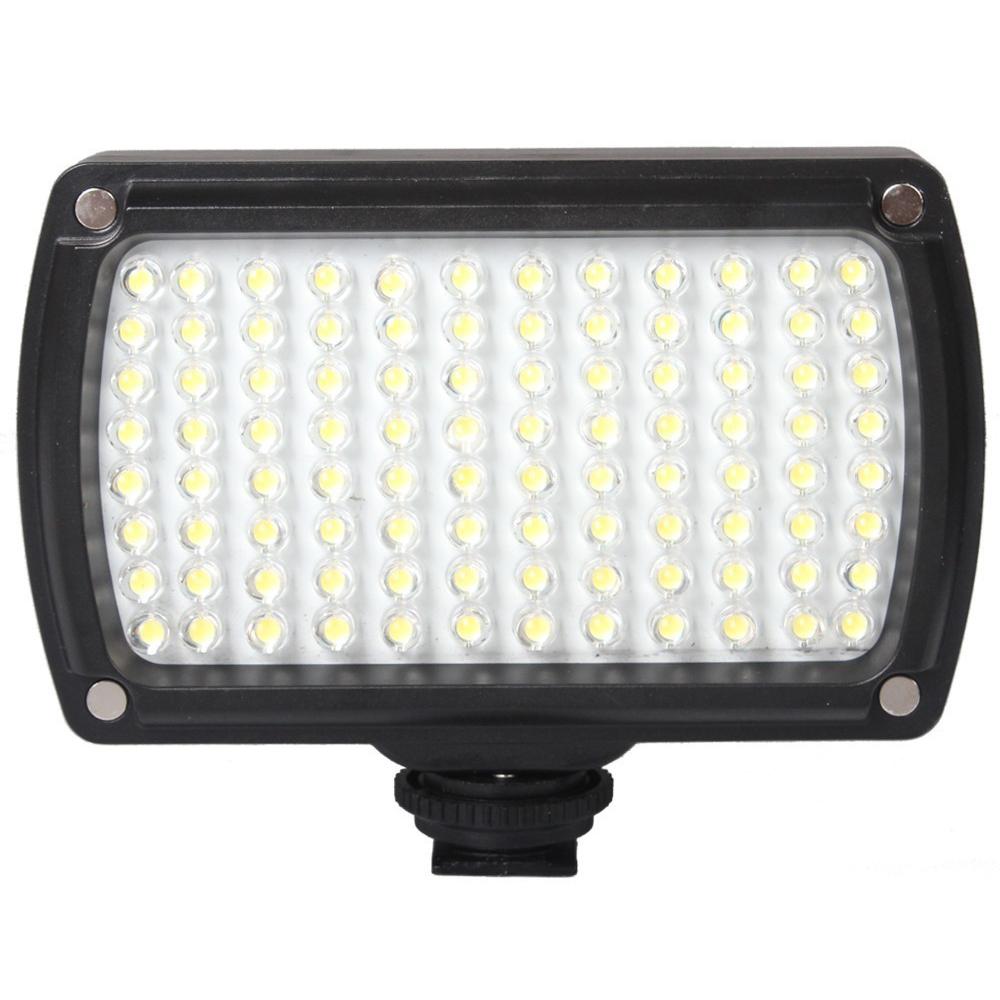 Prix pour 96 LED 9 W Photo Caméra Vidéo Hotshoe LED Lampe Éclairage pour Caméscope DSLR De Mariage