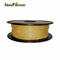 Wood 1.75mm Filament 1KG Colorful Printing Materials 3D Extruder plastic filament for 3D printer