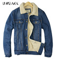 Uwback 2017 New Brand Winter Jacket Man Denim Thicken Outwear Warm Coats Femme Windbreak Jeans Plus Size Jackets Men TA092