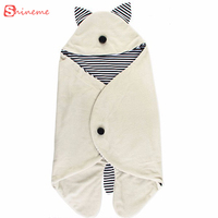 soft high quality comfortable Baby Sleeping Bag kid Clothing Sets Envelope For Newborns Fashion Cute Cartoon children Bedding