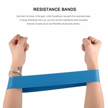 2018 New Elastic Resistance Band 3/4/5 Level Available Exerc