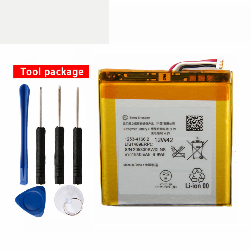 Sony Phone-Battery LT26W LIS1489ERPC 1840mah Xperia Original For Ericsson Acro