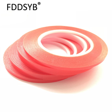 Strong (0.2mm Thick), 1-8MM *25M Choose Acrylic Adhesive Double Sided Tape for iphone Battery Phone Display Lens LCD Screen 3m double sided tape strong acrylic adhesive pet red film clear double side tapes no trace for phone tablet lcd screen glass