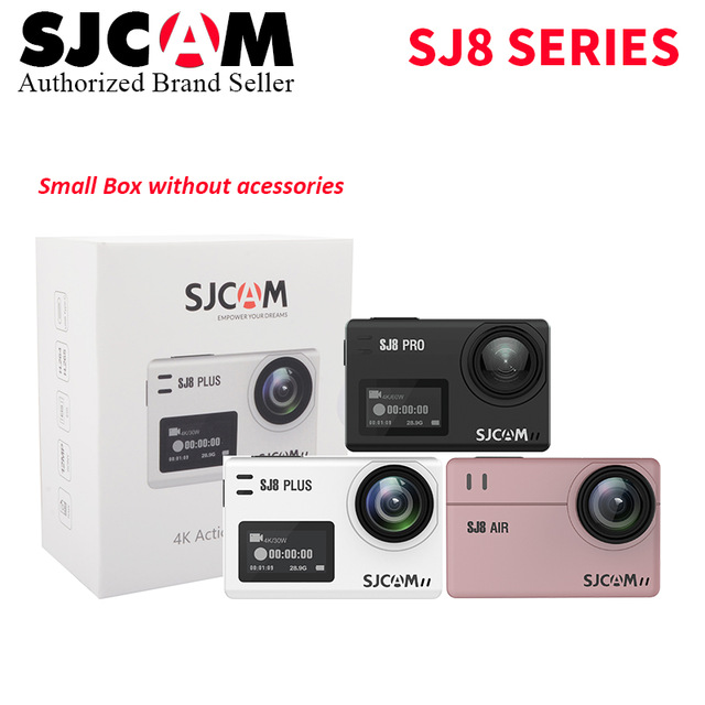 SJ8 Air & SJ8 Plus & SJ8 Pro Action Camera Sports DV 4K 60fps Diving 30M Waterproof Extreme Helmet mini Camcorder SJ8 Cam
