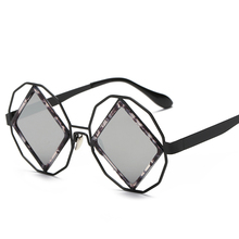 MiniClould Sunglasses Women Round Mirror Circle Vintage Square Sunglasses Glasses