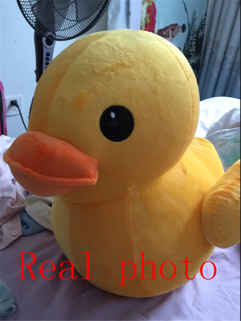 50cm,70cm Big Yellow Duck Toy Stuffed Plush Toy, Kids Yellow Duck ...