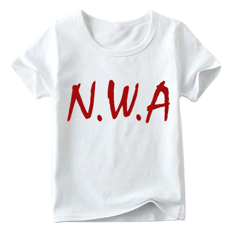 HTB1xyZcLNYaK1RjSZFnq6y80pXaz - Matching Family Outfits NWA Straight Outta Compton Print T-shirt Family Matching Look Clothes Kids&Man&Woman Funny Tshirt