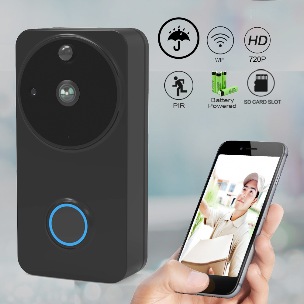 CTVMAN IP Video Door Phone Digital Outdoor Electronic Doorman With Camera Wi-fi Video Doorbell Home Intercoms Wireless Doorphone