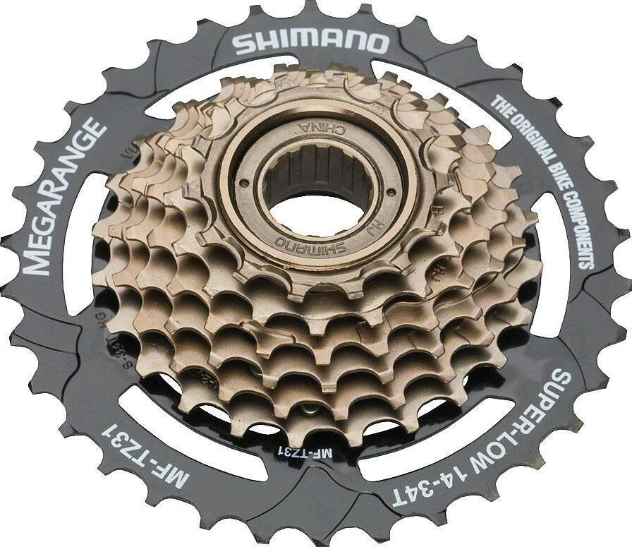 SHIMANO TOURNEY MF-TZ31 TZ31 Cassette 7S MTB bike bicycle freewheel Cassettes 14-34T цена