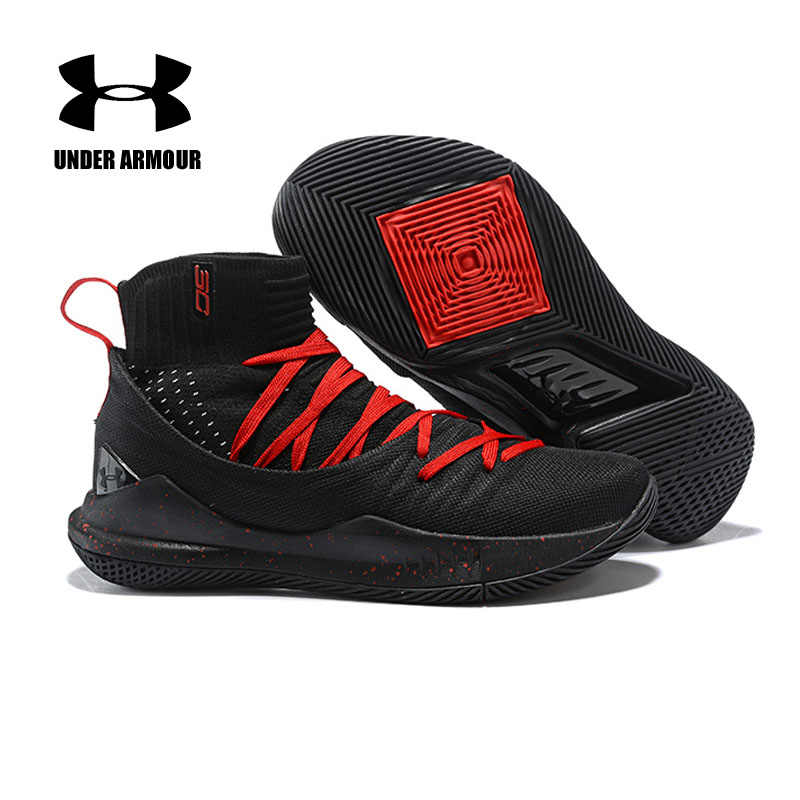 8fc6ba3f843a Under Armour Basketball Shoes Curry 5 sock Sneakers tenis basketball  zapatillas hombre deportiva Outdoor Cushion training